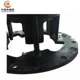 Fer ornemental en acier de Rosetter de fer de moulage pour des pièces de meubles