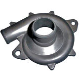 Aluminium Druckguß mit entgraten Ende