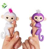 2017 Gift van het Stuk speelgoed van het Huisdier van Zoe Sound Finger Motion Hanger van de Aap van de Baby van jonge vissen de Interactieve
