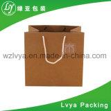クラフト紙のショッピング・バッグの紙袋かギフトの紙袋の製造業者