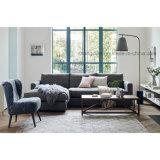 使用されるホテルまたはホームのためのL字型部門別のソファーをカスタマイズしなさい(ST0027)