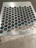 Orificio de perforación hexagonales de aluminio perforado Venner