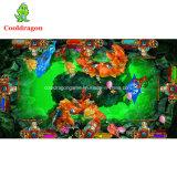 La arcada de juego eléctrica del rey 2 pesca del océano de la tarjeta del juego del casino engaña el vector de los pescados