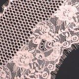 Commercio all'ingrosso svizzero del tessuto del merletto del voile del merletto operato della guarnizione