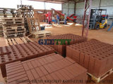 Tijolo positivo da argila do mestre 7000 de Eco que faz a maquinaria