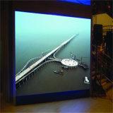 Innendigital P10 farbenreicher LED-Bildschirmanzeige-Leichtgewichtler