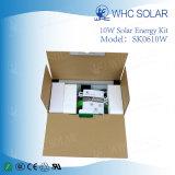 10W Kit de Iluminação do Painel Solar em casa com 4 luzes LED