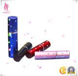 Bomba de cosméticos coloridos garrafa spray com tampa esmerilada