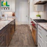 Les applications résidentielles et commerciales en PVC, revêtement de sol en bois de luxe ISO9001 Changlong Clw-23