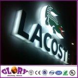 옥외 광고를 위한 분명히된 LED 아크릴 편지 표시