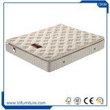 Colchón superior de la cama matrimonial de la almohadilla comercial con el resorte Pocket elástico de Bonnell del resorte