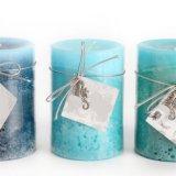Velas artesanales velas mate con la etiqueta