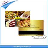 Transparente de duas faces da placa de Impressão Offset cartões de tarja magnética