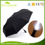 LEIDEN van de Paraplu van de Vouwen van de bevordering Automatische Open en Dichte Licht