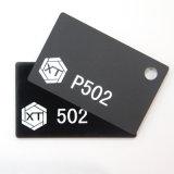 noir acrylique de feuille de plexiglass de 3mm PMMA en feuilles en plastique