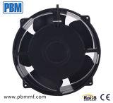 200x70mm DC com ventilador de Fluxo Axial do tubo do alojamento do impulsor de plástico e alumínio