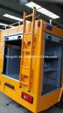 Porte en aluminium de roulement d'argent de matériel de commande de tir pour le camion Emergency