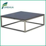 Fumeihuaのレストランの樹脂の積層物の正方形のテーブルの上