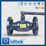 Vávula de bola completamente soldada del borde del GOST del fabricante de Didtek