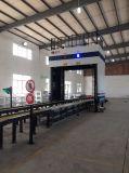 X vehículos del envase del rayo que exploran la máquina
