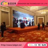 Alta pared a todo color de interior del vídeo de la definición P4 HD LED