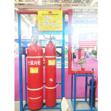 Sistema extintor completo del gas FM200 del certificado