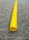 白い紫系統の黄色の紫色のプラスチックABS PVC円形の突き出された管