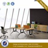 木MDFのオフィスの区分クラスタ事務員のスタッフワークステーション(UL-NM078)