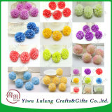 Daisy искусственного поддельные цветы шелк сферические головки свадебное для массовых грузов