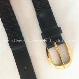 Fashionable High-End Leather Braided Belt