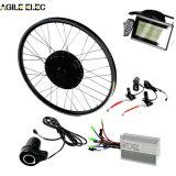 Ágil orientada de 250W Kit Eléctrico del Motor de la rueda de bicicleta con batería