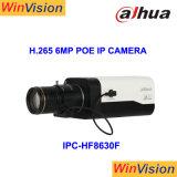 Dahua H. 265のボックス6MP HD Poe IPの監視カメラIpcHf8630f