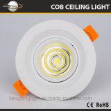 공장 가격 알루미늄 7W LED 스포트라이트 Downlight