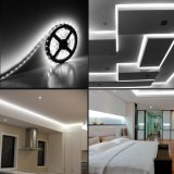 16.4FT/5m IP65 wärmen weißes LED-Streifen-Licht, flexiblen LED-Schwachstrom-Verbrauch SMD5730 für Hauptinnenfestival-Dekoration