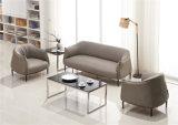 Sofà moderno sostenibile acquistabile del piedino del metallo della disposizione dei posti a sedere di zona di ricezione