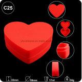 O tabagismo de distribuição de 17ml Coração contêineres de Silicone
