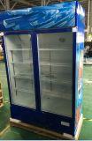 Vetrina dritta del frigorifero della frutta dei doppi portelli LC-630