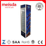 La puerta de cristal refrigerador