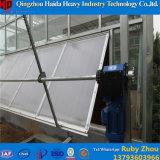 Innengemüse-Zucht-Aluminiumrahmen-Glas-Gewächshaus