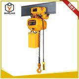 Alta calidad alzamiento de cadena eléctrico de la construcción de 2 toneladas