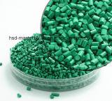 15% 25% 30%深緑色のMasterbatchの化学物質的なプラスチック原料