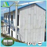 Painel de parede composto do sanduíche dos materiais de construção com placa de Sillicate do cálcio