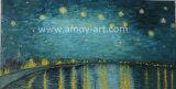 Wiedergabe des berühmten Künstlers---Van- Goghsternenklares NachtÖlgemälde
