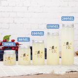 Cilindro 60ml 2oz Mel Vidro Congestionamento de Jar Jar Ninho de Pássaro garrafa de vidro