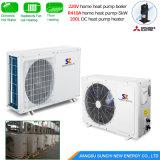 暖房120sqのメートルの家10kw/220Vのヒートポンプのヒーター