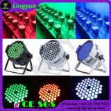 단계 DJ 더 싼 54X3w RGB 3in1 LED 동위는 점화할 수 있다