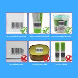 Système d'alarme RF EAS Étiquette doux 8.2MHz 4*4cm étiquette EAS RF adhésif autocollant pour stocker l'option Antivol utilisé sur les vêtements Tags bouteille de shampoing et d'autres surface Non-Metal