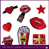 Lips and Lipstick Embroidered Sew Iron one Patch Badge Bags Hat Cape Jeans Applies Fabric Transfer
