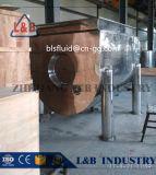 Mezclador de una sola capa horizontal del polvo del acero inoxidable de la categoría alimenticia