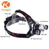 高い内腔アルミニウム再充電可能で軽く明るい装置のヘッドライト